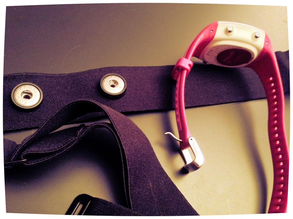 Różowy pulsometr dla kobiet