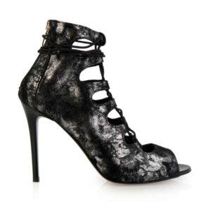 wiązane kobiece sandały